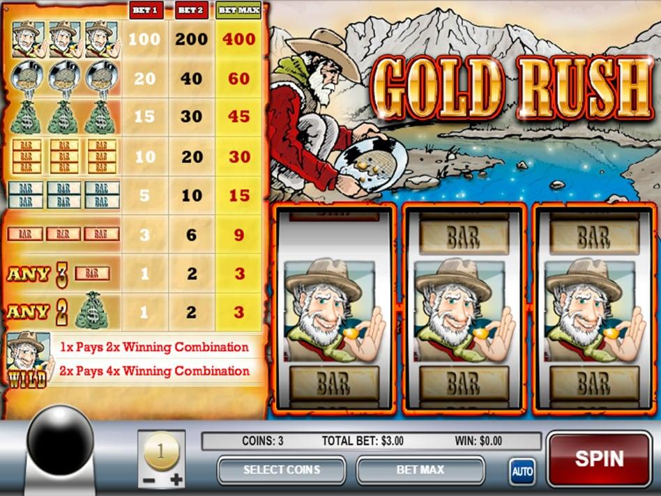 Goldrush Slots Review